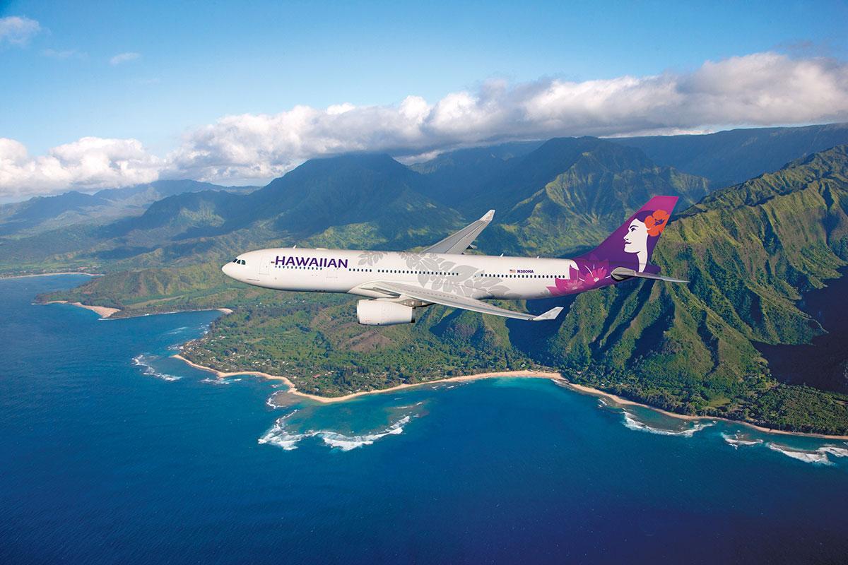 ハワイアン航空の新デザイン