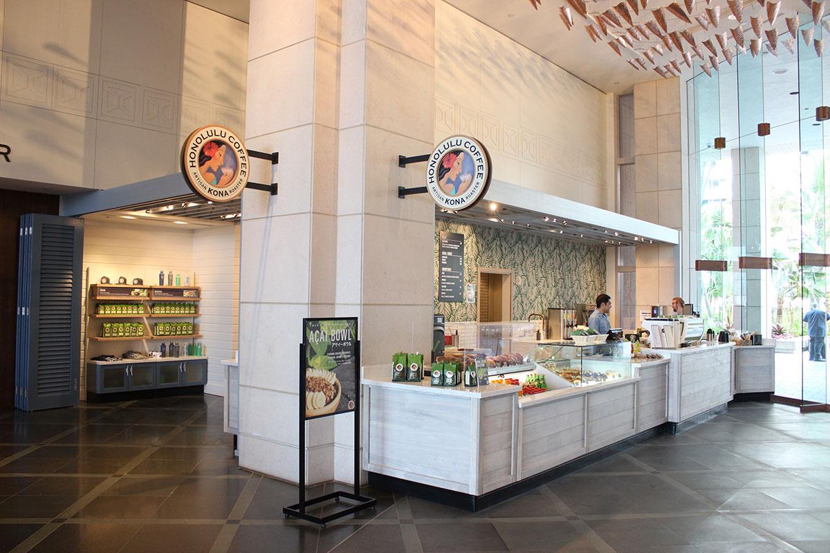 ホノルルコーヒー(プリンス ワイキキ)の店舗イメージ