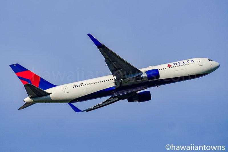 デルタ航空のB767-300ER
