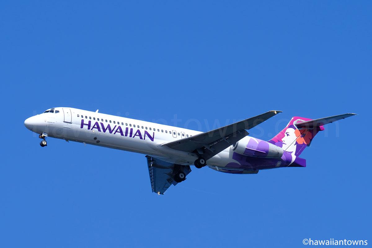 ハワイアン航空のB717型機