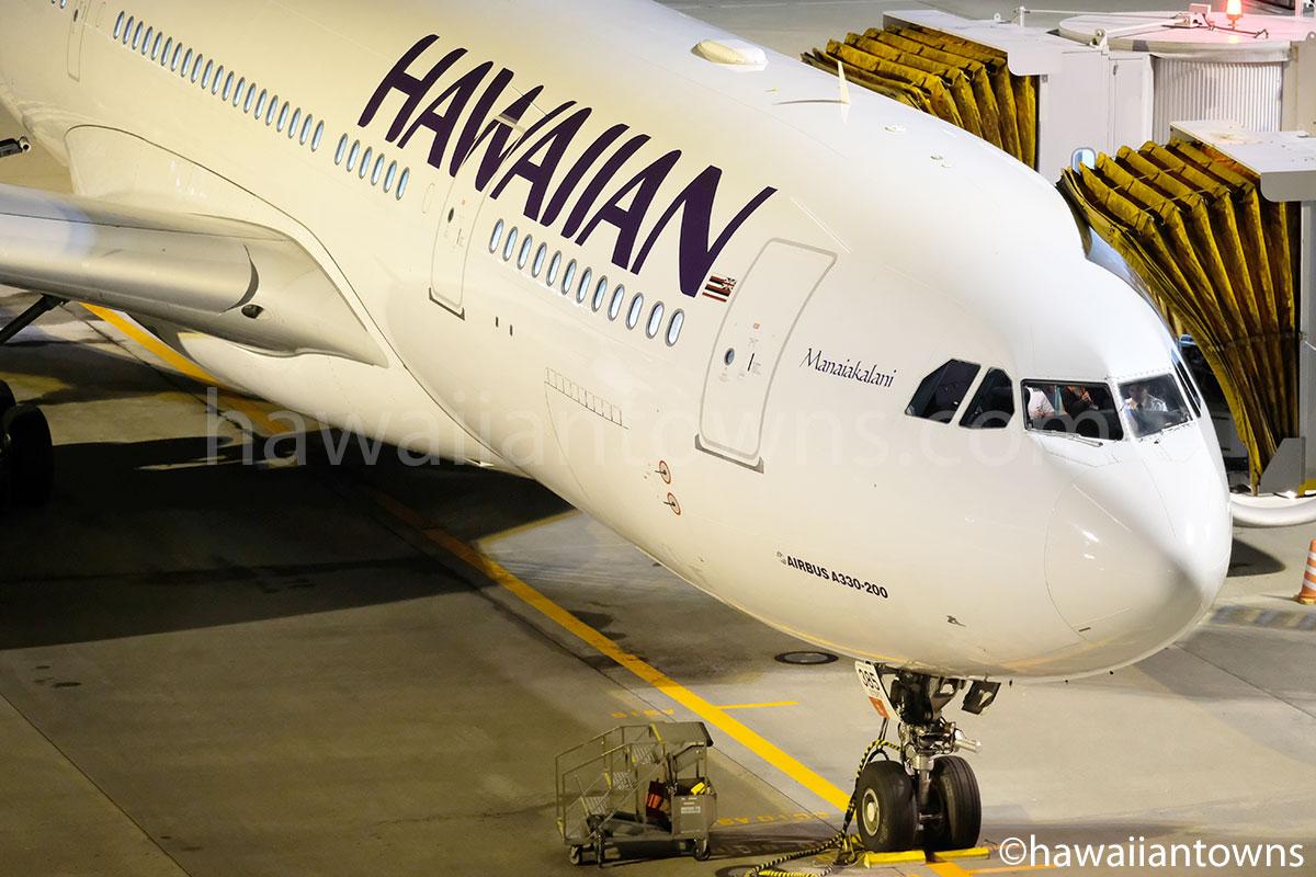 ハワイアン航空のA330-200型機