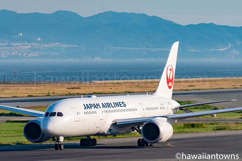 JALのB787