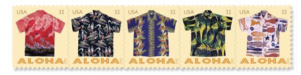 アロハシャツの切手