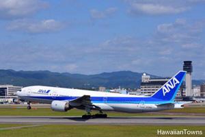 ANAの旅客機