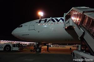 ハワイアン航空A330