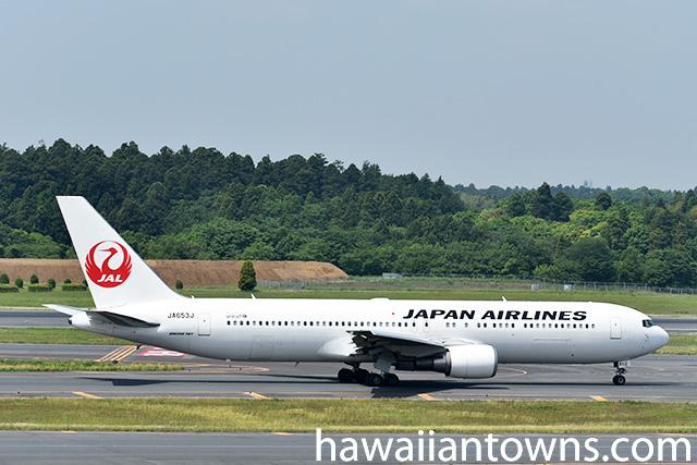 JALのB763型機