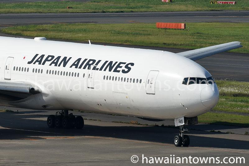 JALのB777