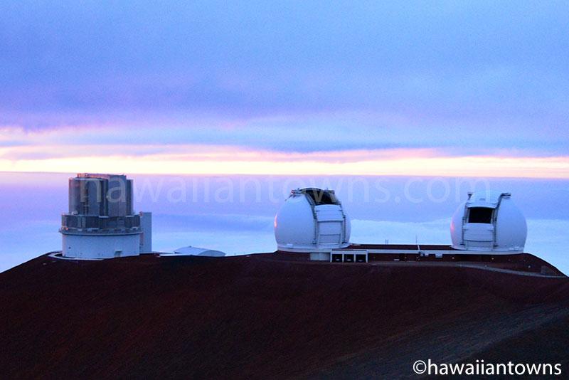 すばる望遠鏡とケック天文台