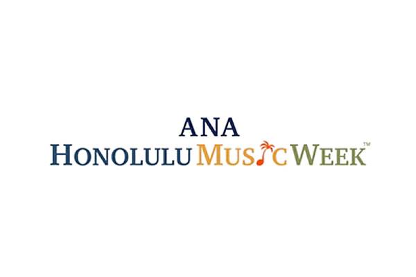 ANA HONOLULU MUSIC WEEKのロゴ