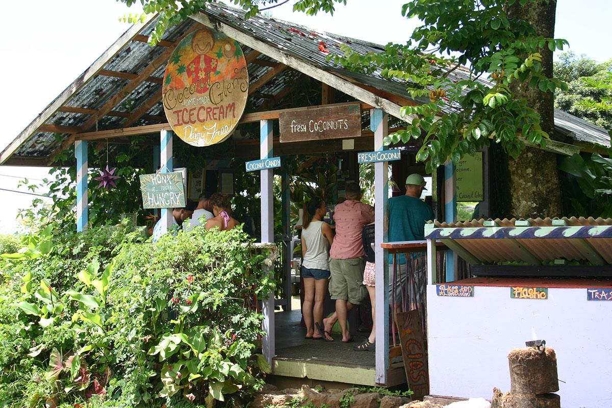 マウイ島の本店