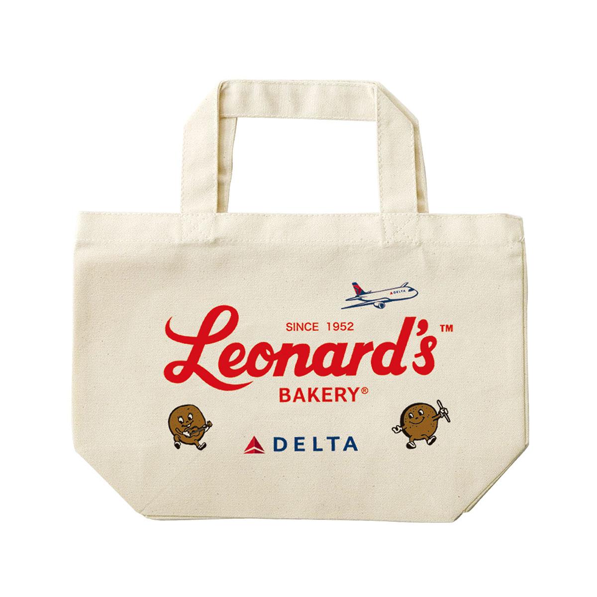 デルタ航空とレナーズのトートバッグ