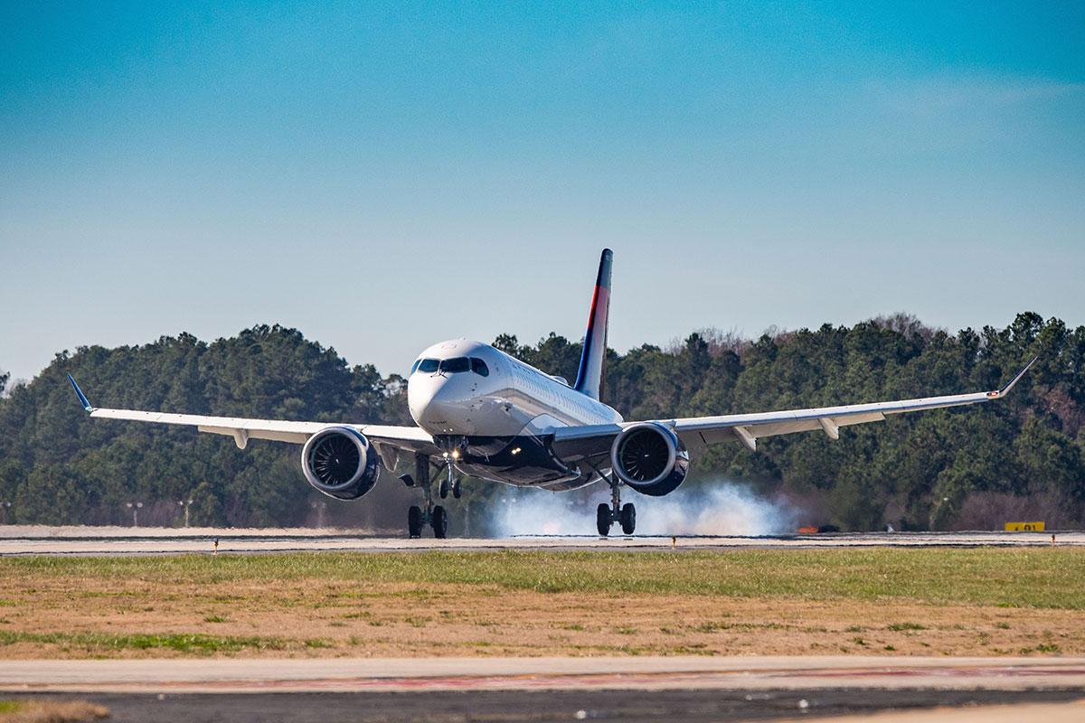 デルタ航空の航空機
