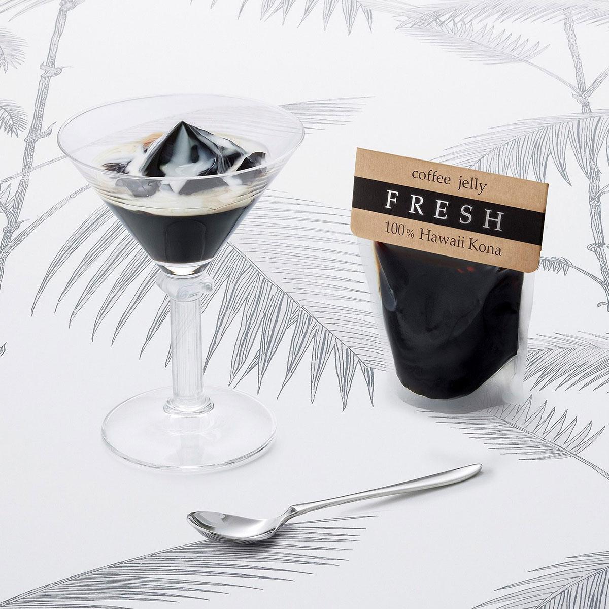 コーヒーゼリー フレッシュ 100%ハワイコナ ( 3 枚入)