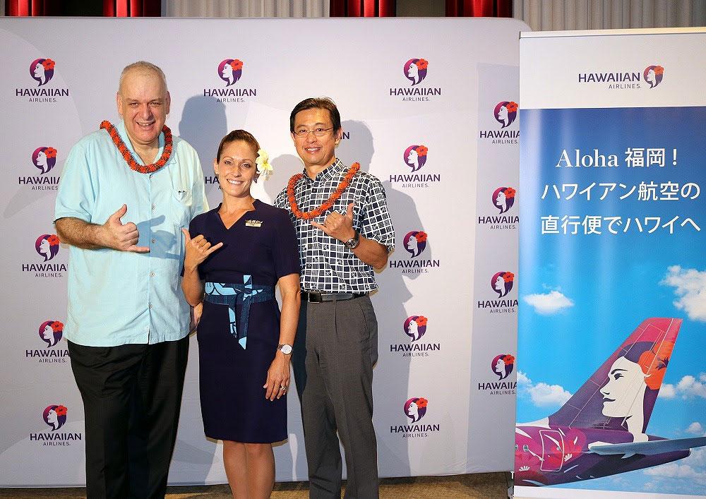 ハワイアン航空が福岡就航を発表