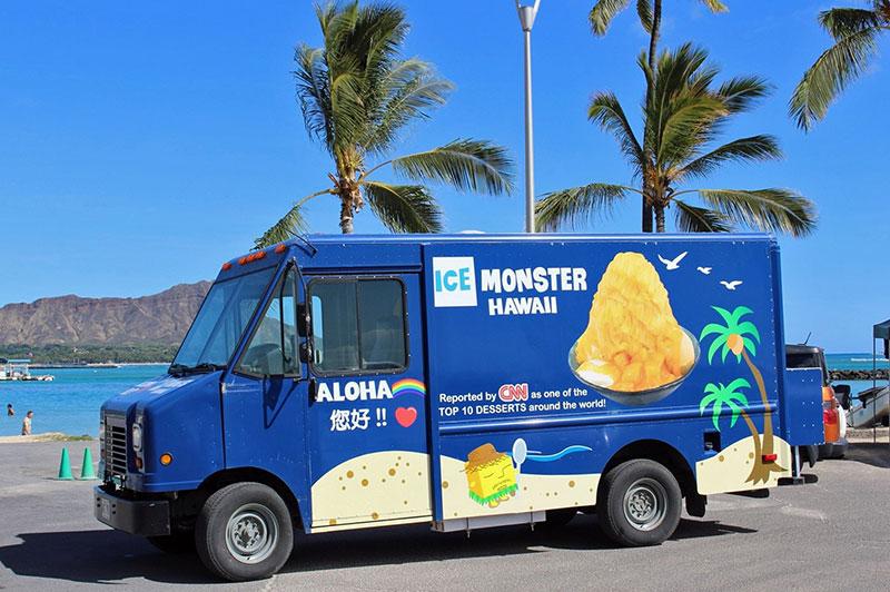 ICE MONSTER (アイスモンスター)のワゴントラック
