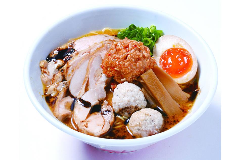 鶏白湯(味噌チャーシュー)