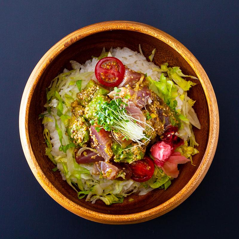 南紀鮮魚のロミロミ丼