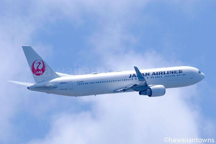 JALのB767-300ER