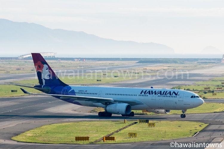 ハワイアン航空 HA449便