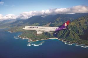 ハワイアン航空の飛行機