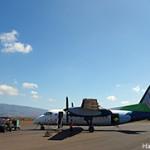 アイランドエアーの飛行機