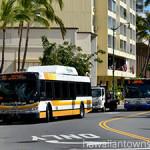 カパフル通りを走るザ・バス