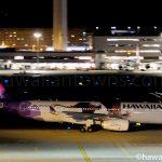ハワイアン航空モアナ塗装機N392HA
