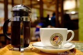 100%コナコーヒー・フレンチプレス