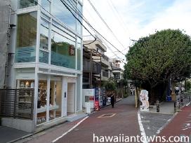原宿・表参道から渋谷への散歩道にある